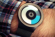 Дизайнерские часы Ziiiro
