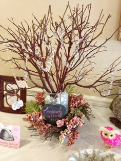 We Heart Parties: Party Information - Baby Madelyn's Vintage Owl Baby Shower