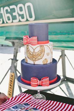 Hermès wedding cake / Onelove Photography
