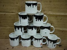 12 Best Starbucks City Relief Mugs Images Starbucks Mugs
