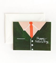 Father's Day Shirt Card for JB from Rifle Paper Co. Fathers Day Shirts, Happy Fathers Day, Father's Day Greeting Cards, Ipad Art, Rifle Paper Co, Good Good Father, Party Shop, Holiday Activities, Gifts For Dad