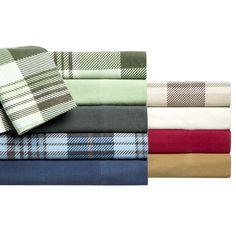 Elite Winter Nights Flannel Sheet Set ( - Charcoal)