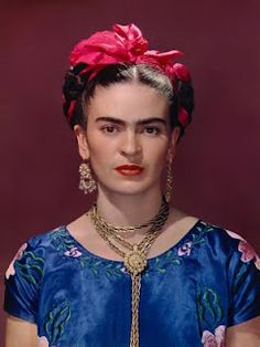 Frida painted her own reality.