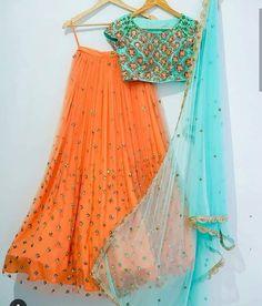 Lehenga Blouse, Sari, Indian Fashion, Color Combinations, Summer Dresses, Clothes For Women, Colour, Book, Clothing