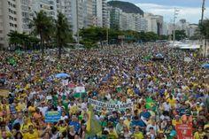 Protesto em defesa da Operação Lava Jato reúne manifestantes em 200 cidades do Brasil
