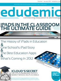 iPad magazine dedicated to education and technology
