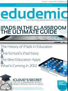 iPad magazine dedicated to education and technology