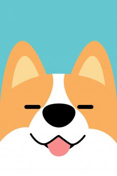 Smiling corgi dog face flat design Premium Vector Smiling Corgi Dog Face Flat Design Source by denealfann The post Smiling Corgi Dog Face Flat Design appeared first on Saffron Pets. Corgi Drawing, Cute Dog Drawing, Cute Drawings, Illustration Landscape, Dog Illustration, Flat Design Illustration, Flat Design Inspiration, Corgi Cartoon, Kawaii 365