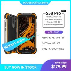 "DOOGEE S58 Pro Mobile Phone IP68/IP69K Waterproof Rugged Phone 5180mAh 5.71""FHD+Display 6GB+64GB Android 10 NFC Smartphone Tags: doogee s90,doogee y8,doogee s95 pro,doogee n20,doogee mix 2,doogee y7,doogee s55,doogee s68,doogee s95,doogee x55 case,doogee x55,doogee carro,doogee x50,doogee mix,doogee s90 pro,doogee s80,doogee x5 pro,doogee x6,doogee y9 plus,doogee smartphone,doogee mobile,doogee s70,doogee n20 pro,téléphone doogee,doogee y8 plus,doogee x30,doogee phone,doogee s68 pro,doogee…"