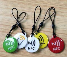85.5*54mm,45*45mm,50*50mm,15*30mm,Φ25mm,Φ30mm or Customized waterproof RFID Epoxy Keychain supplier