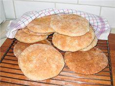 Шведские лепешки с овсяными хлопьями (tekakor). Фото-рецепт