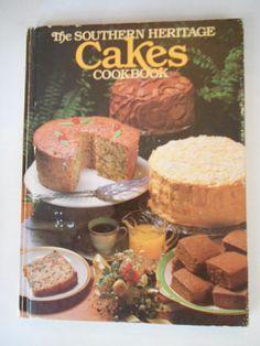 Vintage Cake Cookbook Delicious Southern Heritage Cake Cookbook, 1983