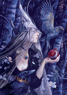 'The Dreaming Place' by Brian Froud.