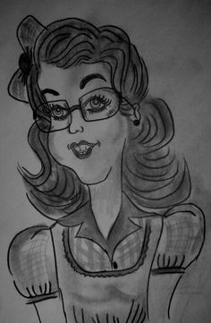 #retro #vintage #old #retrocartoon #70s #sketch #skizze #esboço #lapiz #pencil #grafito #artwork #drawing #dibujo #lady #glasses #óculos #juancarlosnieves #artwork #retrodrawing #dessin #artwork #croquis #desenho #retrowoman #black #mulher #antique #trazos #líneas #lines
