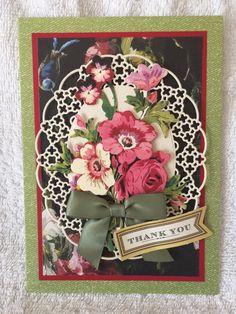 Thank You Card by LesCartesdeSylvie on Etsy