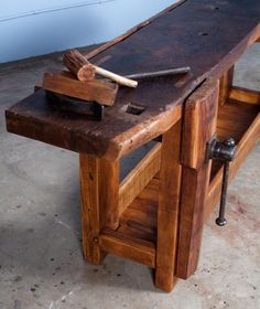 French work bench from 1906