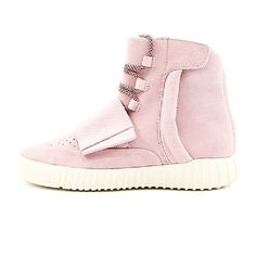 774b94a992fb2 Adidas Yeezy 750 Boost Rouge Rose BB1842 Femme Chaussures