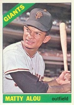 jesus alou baseball card | ... set name 1966 topps card size 2 1 2 x 3 1 2 number of cards in set 609