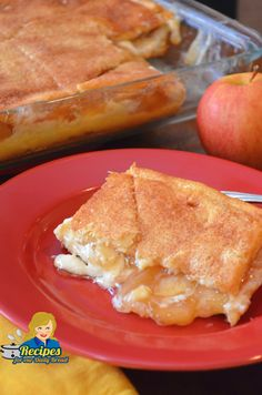This Super Easy Apple Cream Cheese Danish Recipe Using Crescent Rolls And Apple Pie Filling Is Perfect For Breakfast, Brunch Or Even Dessert. – Rebel Without Applause Danish Recipe Using Crescent Rolls, Crescent Roll Apple Pie, Cream Cheese Crescent Rolls, Crescent Roll Recipes, Apple Cream Cheese Danish Recipe, Apple Pie Recipe Easy, Apple Pie Recipes, Easy Recipes, Apple Pie Bars