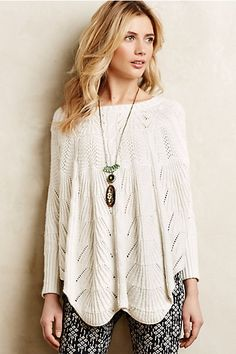 Mirabelle Stitched Poncho #anthroregistry