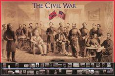 Civil War Surrender at Appomattox Courthouse Military History Poster 2 – BananaRoad