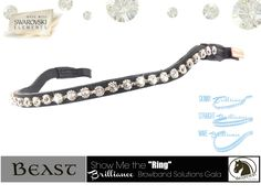 Show Me the Ring #Browbands by Beasties™ #Horse-Tack Solutions