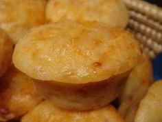 Las Recetas de Marichu.... y las mias: Muffins de Cheddar y Bacon