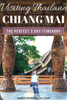 The Perfect 3 Day Itinerary for Chiang Mai Thailand including an elephant sanctuary Thai cooking class temples and restaurant/bar recommendations. Travel Tips Tips Travel Guide Hacks packing tour Thailand Adventure, Thailand Travel Guide, Visit Thailand, Asia Travel, Thailand Vacation, Travel Packing, Thailand Honeymoon, Bangkok Thailand, Travel Hacks