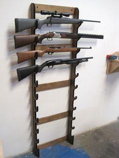 Wall Gun Rack Plans Woodworking Projects Plans Vertical Gun