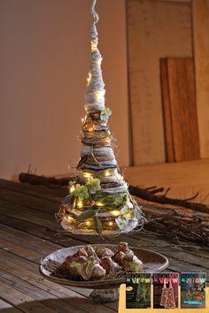 Zutaten für diese winterliche Wollpyramide und weitere Anleitungen findet ihr in unseren View-Magazinen. :-)