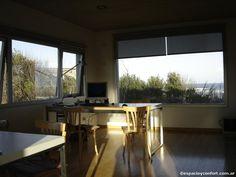 #HomeOffice #Casas #Proyecto Arq. María Inés Denevi - Domando los medanos - Casas - Revista Espacio&Confort - Arquitectura y Decoración