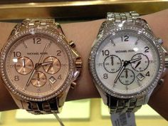 Michael Kors..Silver of Gold? :)