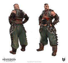 - https://www.artstation.com/artwork/dl4vXArtStation - Horizon: Zero Dawn - story characters concept art, Ilya Golitsyn