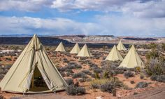 Spend an unforgettable night in the Utah Desert at Moab Under Canvas - Posted on Roadtrippers.com!