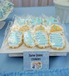 Disney Frozen Cookies