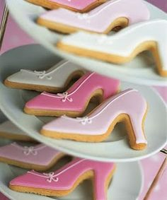 shoe cookies !!!! That's awesome