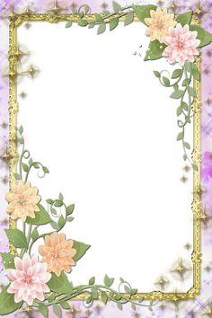 Next  Transparent Flowers Frame