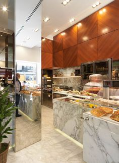 ROSSI&ROSSI modern bakery by Andrea Langhi, Milan bakery #retail #food