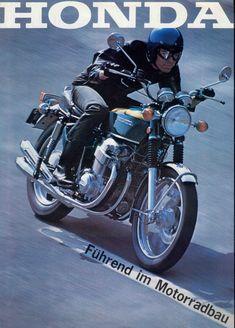 1974 HONDA CB 750 K4 FOUR USA MOTORCYCLE A3 POSTER AD ADVERT ADVERTISEMENT