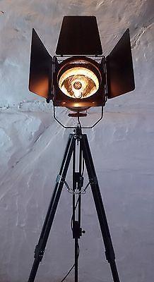 Tripod Stativ Steh Lampe Scheinwerfer Theater Spot Industrie