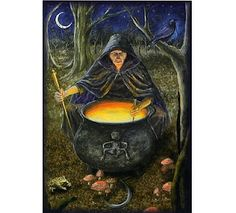 """Crone Goddess"" by Wendy Andrew"