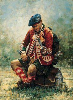 Highlander regiment, ca. 1757