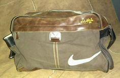 RARE Nike Ronaldinho Messenger Bag canvas leather brazil world cup nsw jersey | Clothing, Shoes & Accessories, Men's Accessories, Backpacks, Bags & Briefcases | eBay!