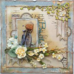 Gabriellep's Gallery: Breathe **Maja Design & Dusty Attic** ...WOW!!!