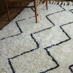 Souk Wool Rug | west elm  Not sure if you're doing a rug or not, but if so, that's a great place for a pattern.  This one will be pricey, but just as an idea....