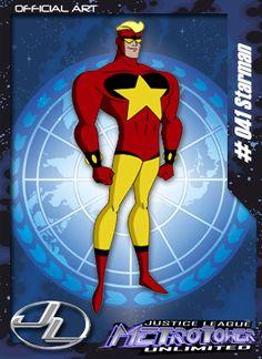 Starman - Membro da Liga da Justiça. Aparece apenas como figurante na série.