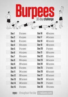 Burpees Challenge
