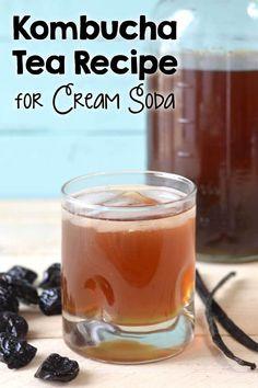 kombucha tea recipe text