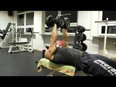 Trenuj z mistrzem Arkadiusz Misiak - Najlepsze ćwiczenia na klatkę piersiową Sportowy Lubartow 2015 - YouTube