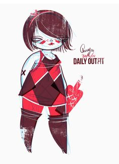 The Curvy Fashionista | Plus Size Art: Cherry from Studio Killers OOTD-Who cares, I have tequila